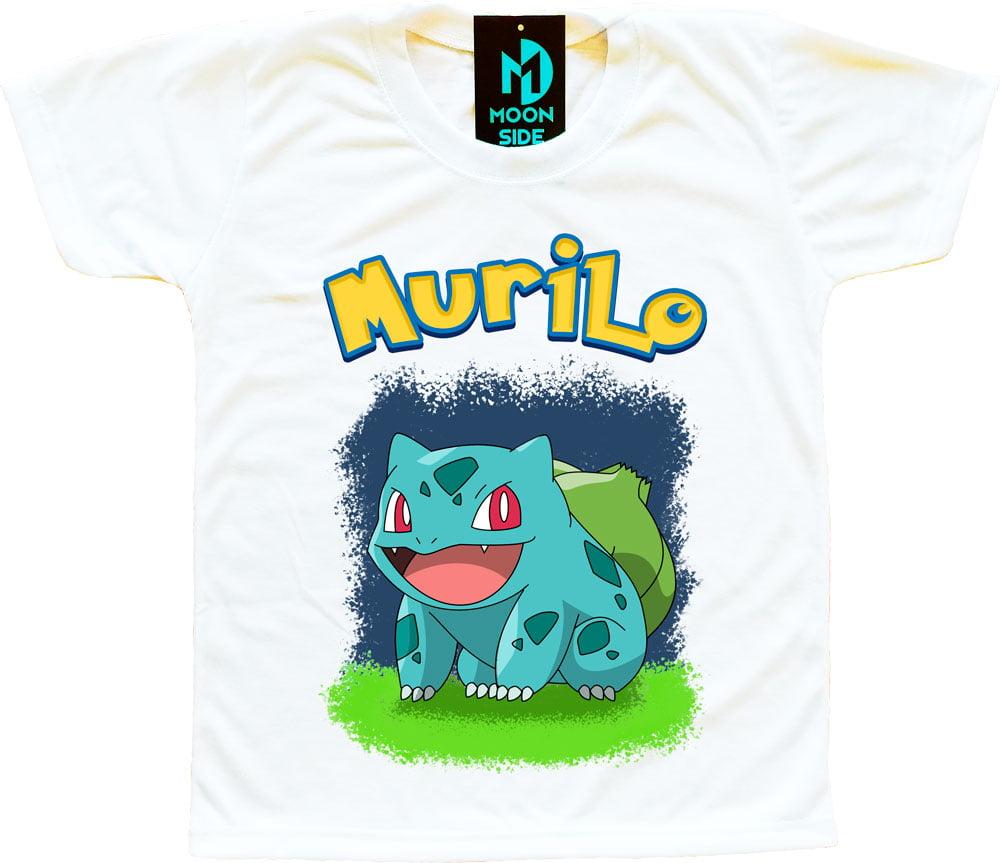 Camiseta bulbasaur personalizada
