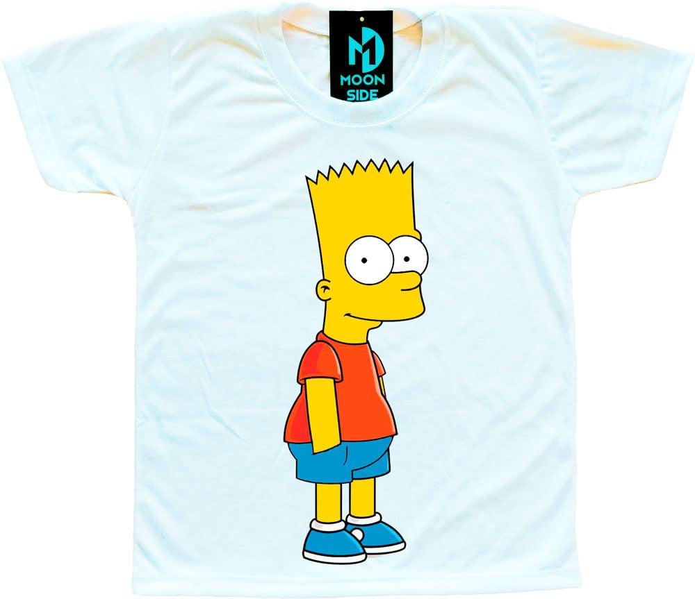 Camiseta Infantil Os Simpson's Bart Simpson