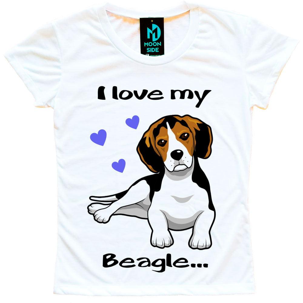 Camiseta Love My Pet  - Beagle