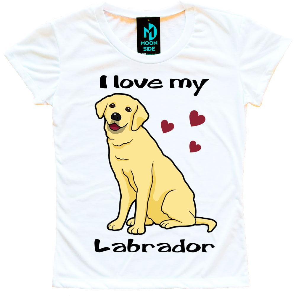 Camiseta Love My Pet - Labrador