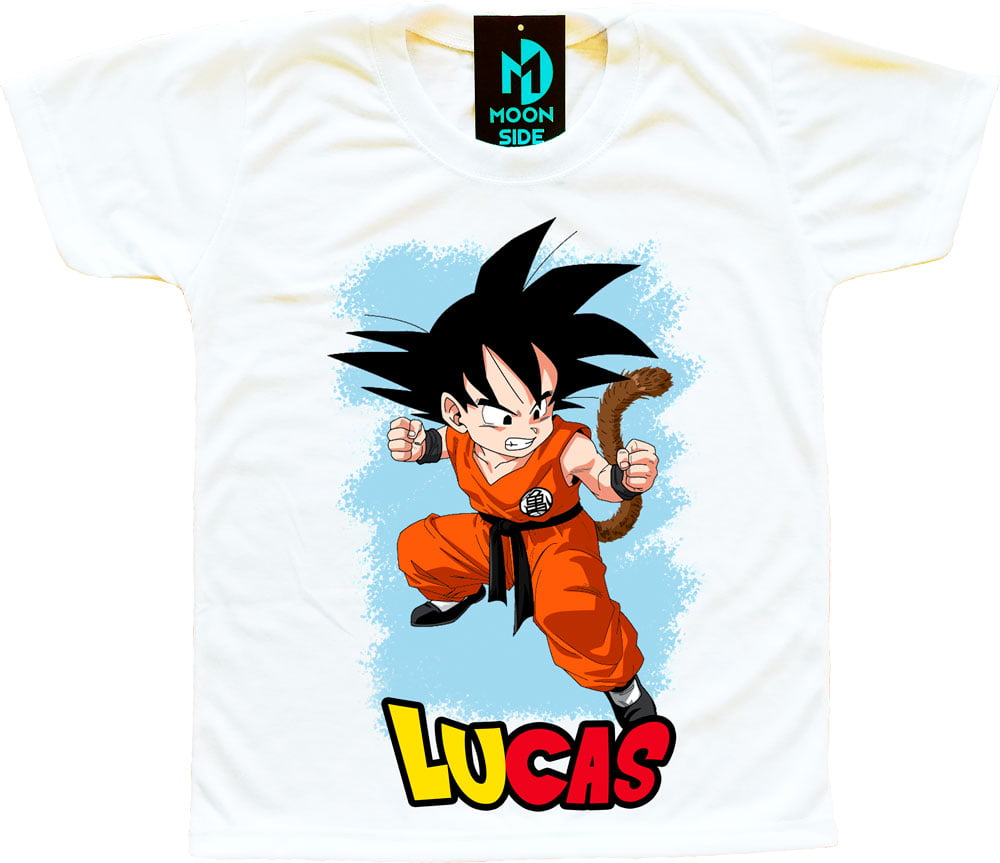 camiseta goku personalizada