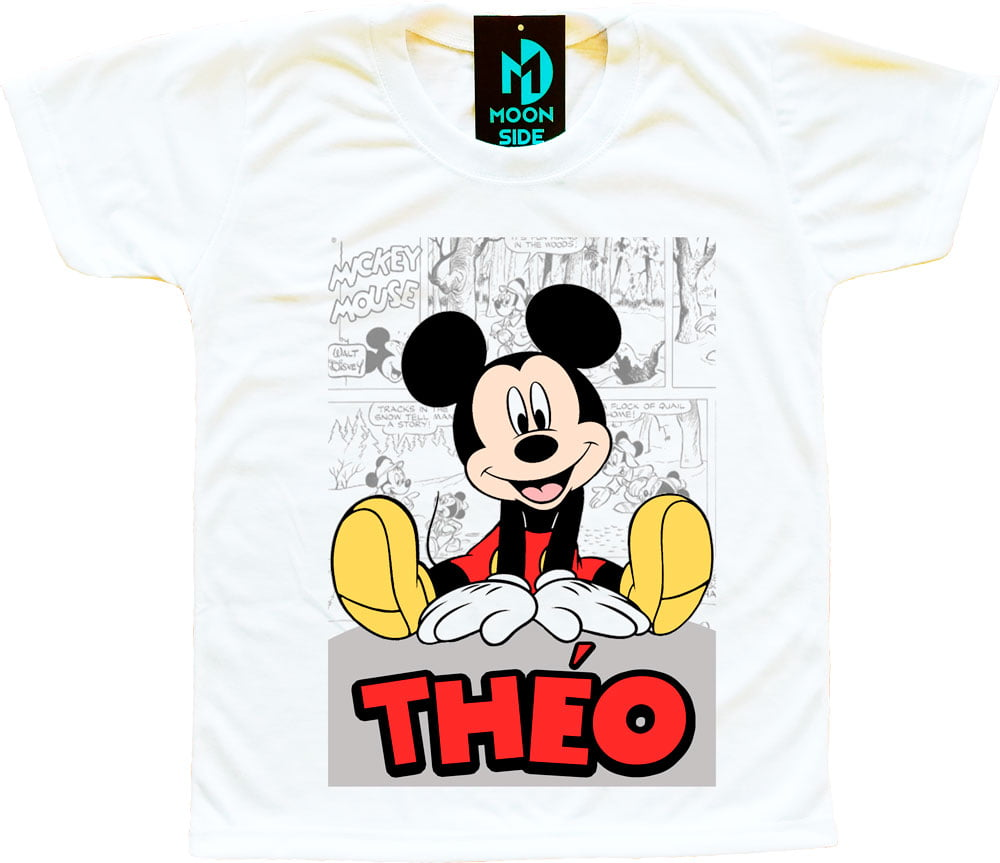 camiseta Mickey personalizada