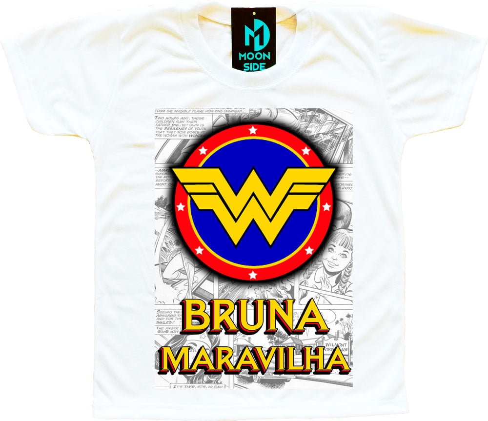 Camiseta Super Herói