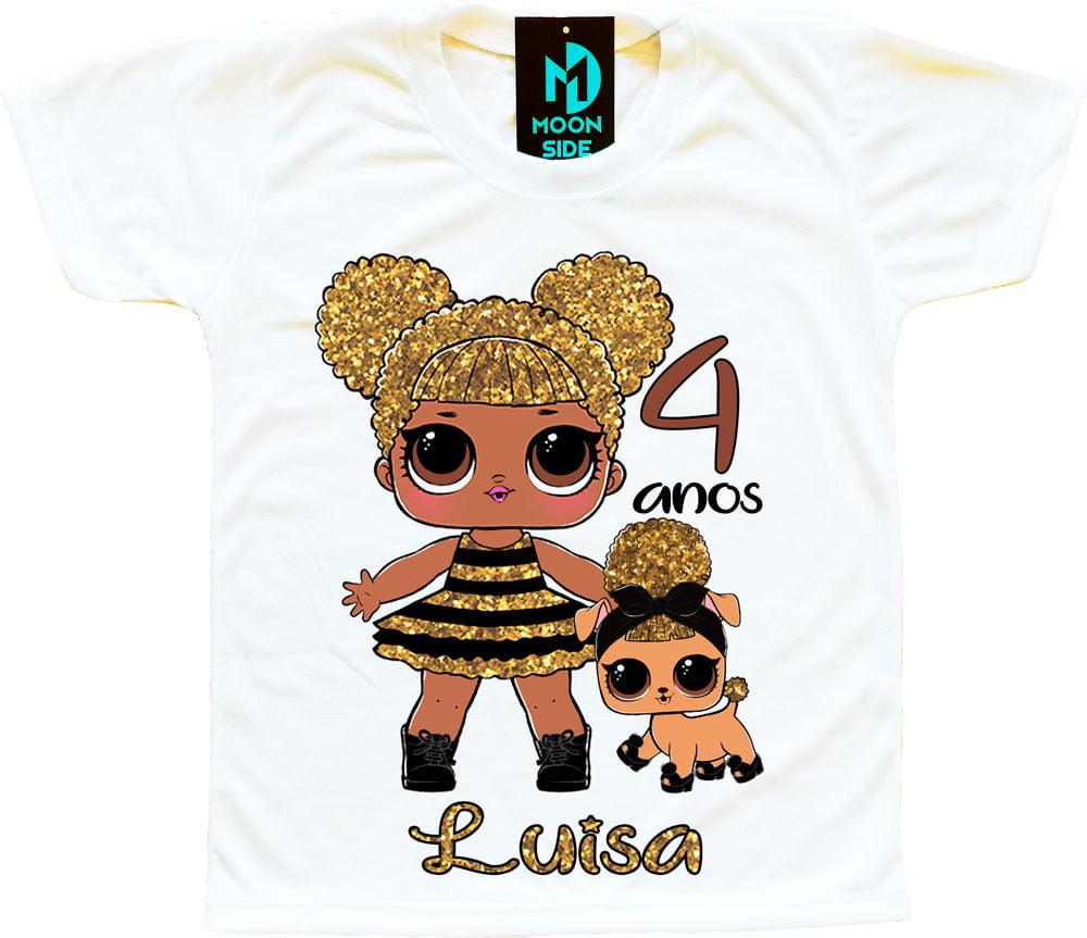 Camiseta lol queen bee aniversário