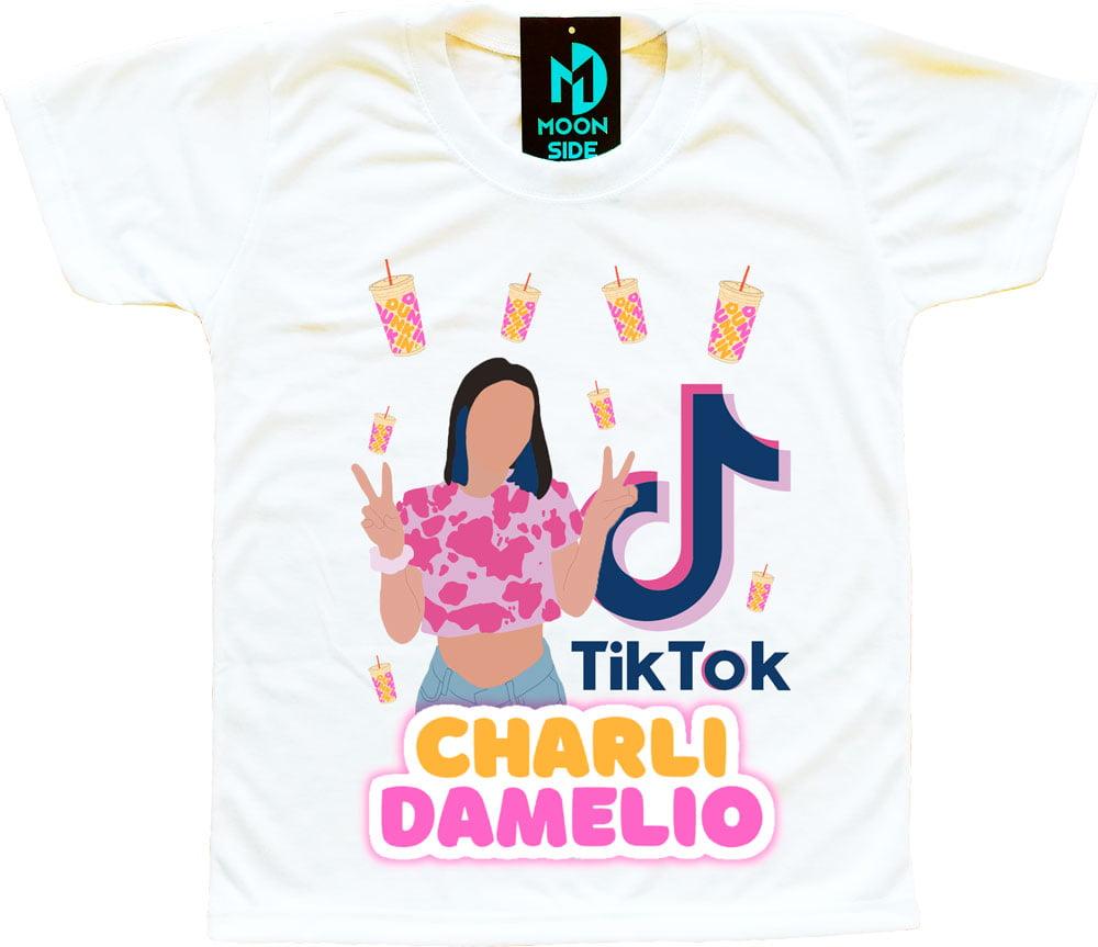 Camiseta Charli d'Amelio tiktok
