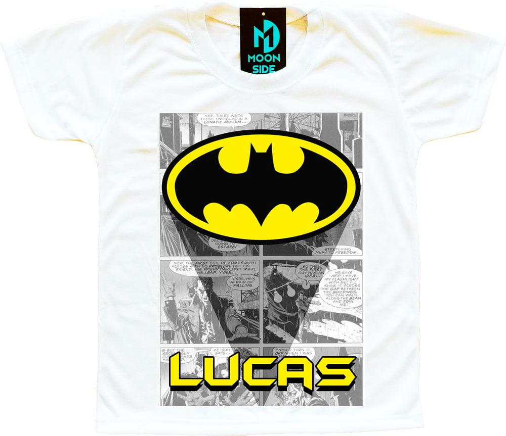 camiseta batman personalizada