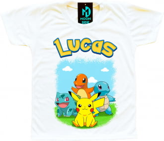 Camiseta Pokemón personalizada