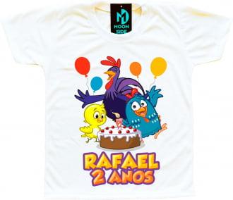 camiseta galinha pintadinha aniversario