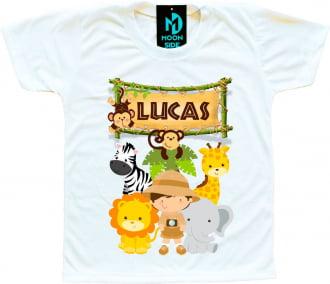 Kit 3 camisetas Safari Aniversario