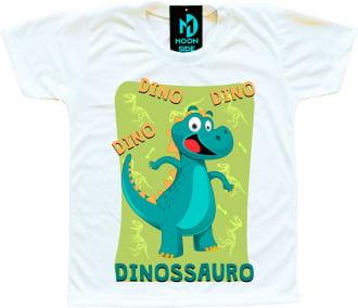 camiseta mundo bita dinossauro
