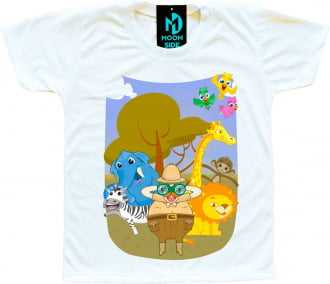 camiseta mundo bita safari