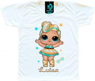Camiseta Boneca Lol Surprise Luxe - Personalizada