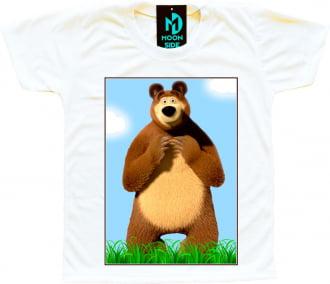 Camiseta urso masha