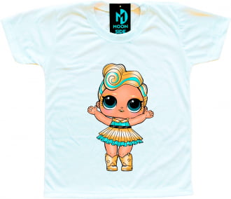 Camiseta Boneca Lol Surprise Luxe