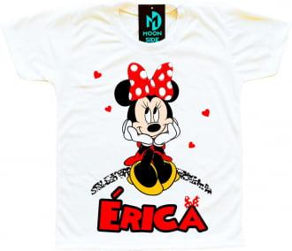 camiseta minnie personalizada