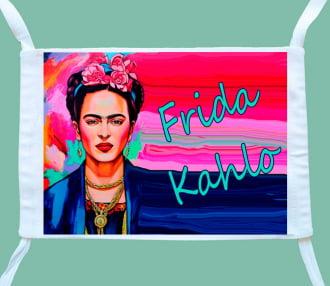 máscara frida kahlo colorida ( 3 unidades)