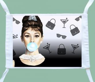 máscara bonequinha de luxo ( 3 unidades)