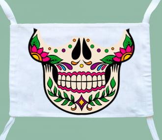 máscara caveira mexicana ( 3 unidades)