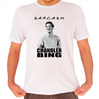 Camiseta Friends Chandler Bing Sarcasm