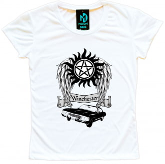 Camiseta Supernatural Winchester`s Impala