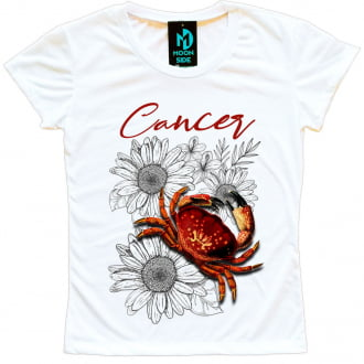 camiseta signo cancer