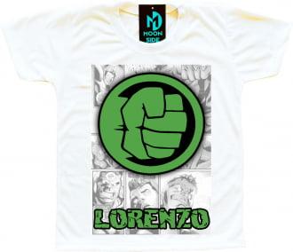 Camiseta hulk personalizada